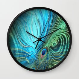 Feather Fantasy Wall Clock