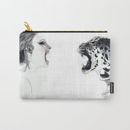Fearless Lady Carry-All Pouch