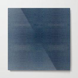 501 ORIGINAL BLUE DENIM Metal Print