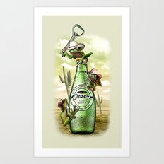 THIRSTY FROGS Art Print