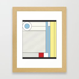 from chaos to order Framed Art Print