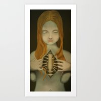 open hearted Art Print