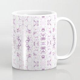 Arabidopsis thaliana (thale cress) root vacuole microscopy pattern magenta Coffee Mug