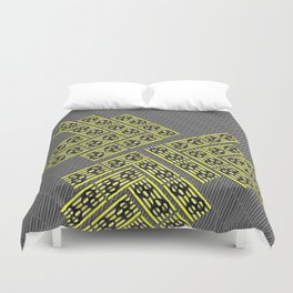 Yello There Duvet Cover