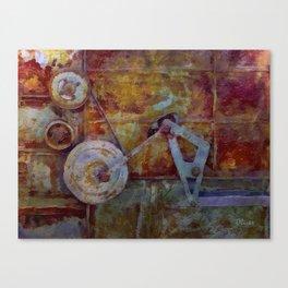 Rust Belt IX Canvas Print