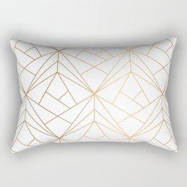 Polygonal Pattern Rectangular Pillow