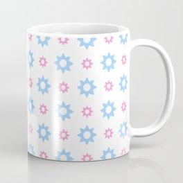 stars 118- blue and pink Coffee Mug
