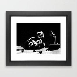 Gamera: The Giant Monster Framed Art Print