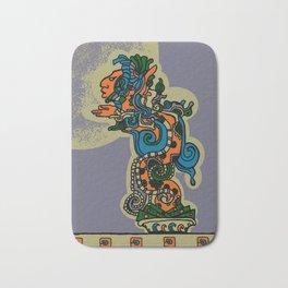 Mythical Quetzalcoatl Bath Mat