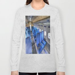 Tupolev TU-154 Russian Airliner Seating Long Sleeve T-shirt