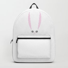 Real Cross Stitch Pattern for T's, Hoodies and Tanks - Color Coded Chart - Easter Bunny Backpack