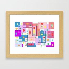 Square Biz Framed Art Print