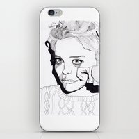 sky ferreira iPhone & iPod Skins featuring Sky Ferreira by ☿ cactei ☿