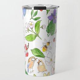 English Garden Travel Mug
