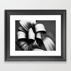 Desaturated Daisies Framed Art Print