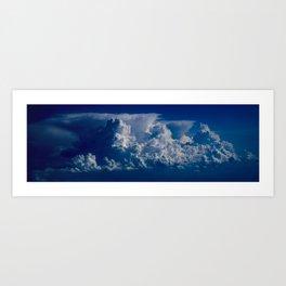 Blue Clouds In The Sky Art Print