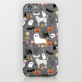 Chihuahua halloween cute spooky seasonal dog pattern chihuahuas iPhone Case