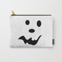Scared Jack O'Lantern Face Carry-All Pouch