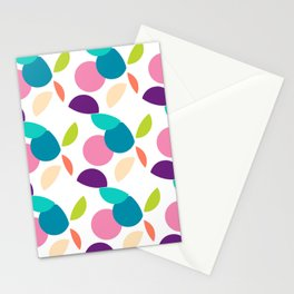 MAD-NZ ROUND CIRCLES Multi Stationery Cards