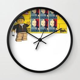LEGO OBEY Wall Clock