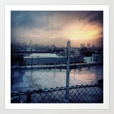 Brooklyn Rooftop Art Print