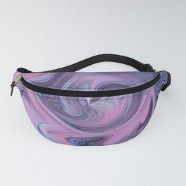 Pink & purple flow 3 Fanny Pack