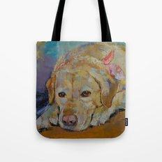 Yellow Labrador Retriever Tote Bag