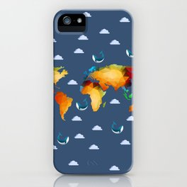 World of Whales iPhone Case