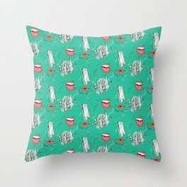 Music ! Throw Pillow
