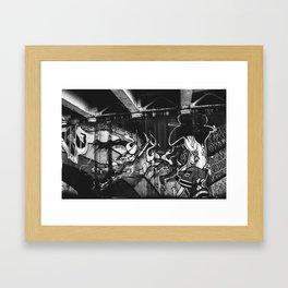 Chicago Grafitti I Framed Art Print