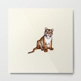 Tongue of the Tiger  Metal Print