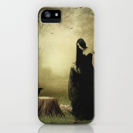 Maiden of the forest iPhone Case