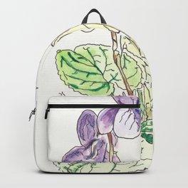 Viola Odorata Backpack