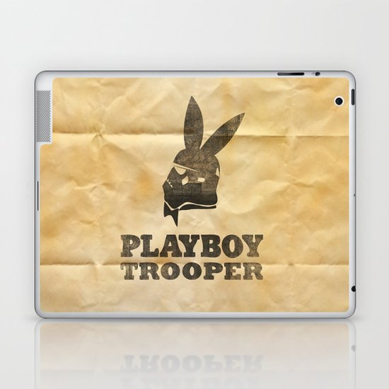 playboy trooper  Laptop & iPad Skin