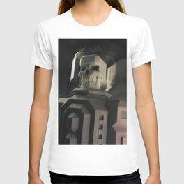 Necronaut low-polygon 3D artwork T-shirt