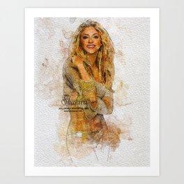 Digital Artwork 6 Art Print