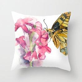 Butterfly#5 Throw Pillow