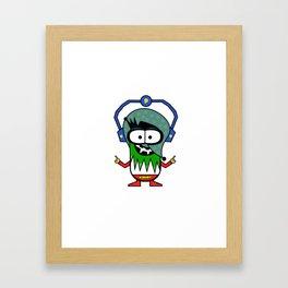 Kidiot Framed Art Print