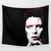 david fleck Wall Tapestries featuring David by Natasha Troy
