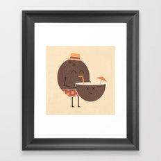 Cannibal! Framed Art Print