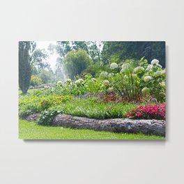 Formal Garden Metal Print