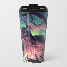 Moose Shamman Metal Travel Mug