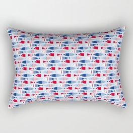 armada of fish Rectangular Pillow