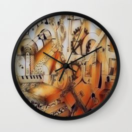 Reflection of life lived Wall Clock