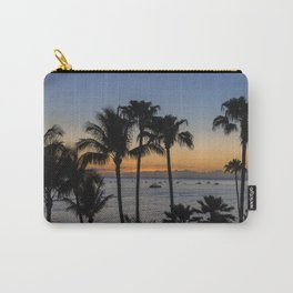 Tropical Paradise Sunset Carry-All Pouch
