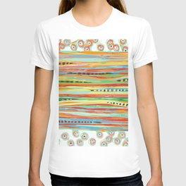 stripes & striped T-shirt