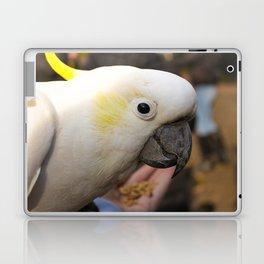 White and Yellow Cockatoo Laptop & iPad Skin