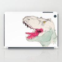 jurassic park iPad Cases featuring JURASSIC PARK by Gianluca Floris