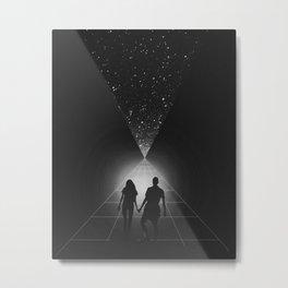 time travelers Metal Print