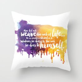 Father, You Are The Skydancer Throw Pillow